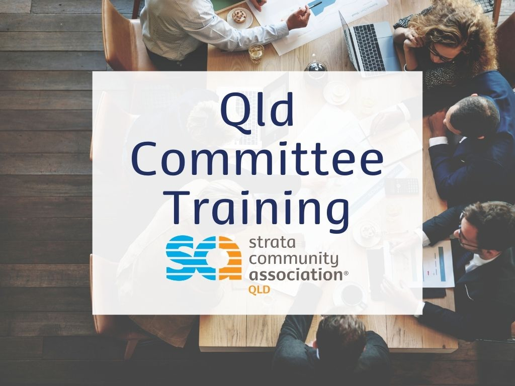 SCA (Qld) Committee Training